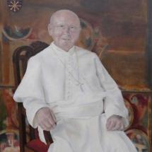 Abt van Berne Ward Cortvriendt (2007-2010) (SOLD) Acryl op linnen 110 x 130 cm 2017