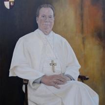 Abt van Berne Ward Cortvriendt (2007-2010) Acryl op linnen 110 x 130 cm 2017