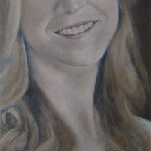 Kim Acryl op linnen 60 x 140 cm 2015