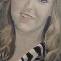 Anne Acryl op linnen 60 x 140 cm 2015