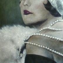 Marie Provost (SOLD) Acryl op linnen 100 x 200 cm 2014