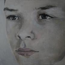 Jens Acryl op karton en paneel 110 x 55