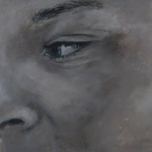 Jens Acryl op karton en paneel 110 x 41,5