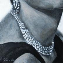 Juwelen Acryl op canvas en paneel 25 x 25