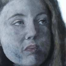 Portret Acryl op canvas en paneel 45 x 32