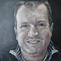 Peter Acryl op canvas 80 X 60 cm 2017