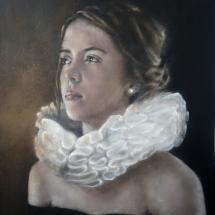 """EVA 'Lang leve Rembrandt"""" Acryl op linnen en paneel 72 x 92 cm 2019"""
